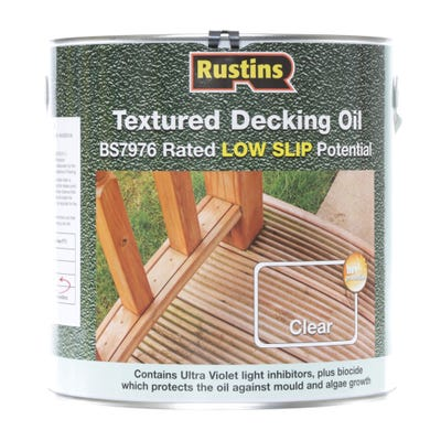 Rustins Textured Decking Oil 2.5L