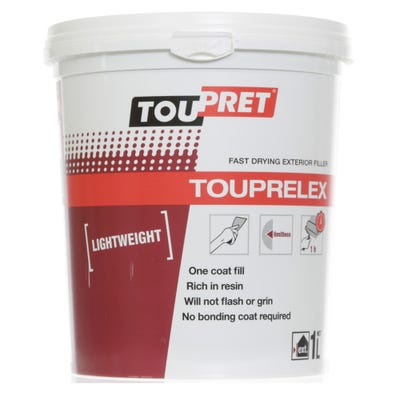 Toupret Touprelex Ready Mixed Lightweight Filler 1kg
