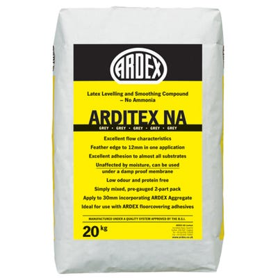 Ardex Arditex NA Powder Floor Levelling Compound 20Kg