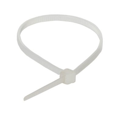 Cable Tie Neutral 140mm x 3.2mm Pack of 100 QT140MP