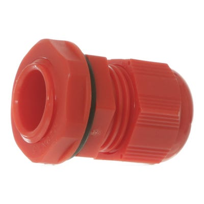 Stuffing Gland & Nut 20mm Pack of 10 Red QCGM20RED