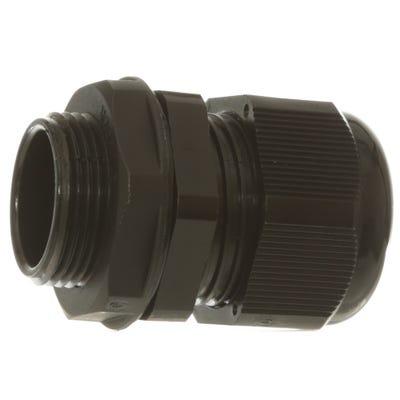 Stuffing Gland & Nut 25mm Pack of 10 Black QCGM25BLK