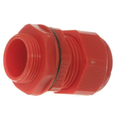 Stuffing Gland & Nut 25mm Pack of 10 Red QCGM25RED