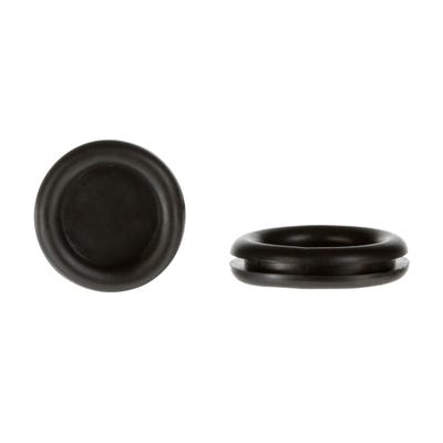 Closed Grommet 20mm Pack of 100 Black QGROM20CLOSED