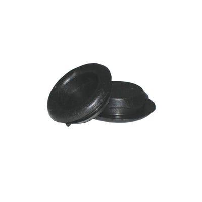 Closed Grommet 25mm Pack of 50 Black QGROM25CLOSED