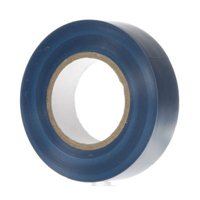 PVC Electrical Insulation Tape 20m x 19mm Blue 1920BL