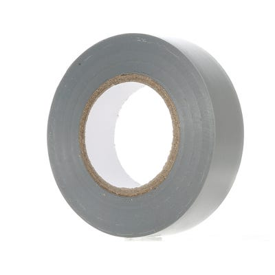 PVC Electrical Insulation Tape 20m x 19mm Grey 1920GY