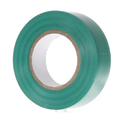 PVC Electrical Insulation Tape 20m x 19mm Green 1920GR