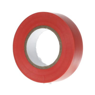 PVC Electrical Insulation Tape 20m x 19mm Red 1920R