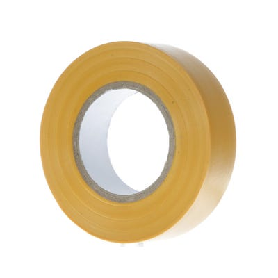 PVC Electrical Insulation Tape 20m x 19mm Yellow 1920Y