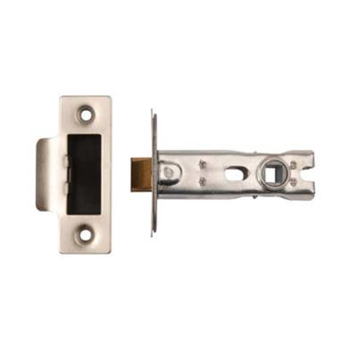 Dale 63mm Tubular Mortice Latch Polished Stainless Steel