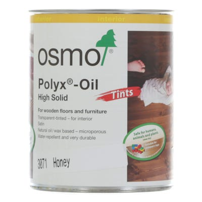 Osmo Polyx Hardwax Oil Tint Honey 750ml