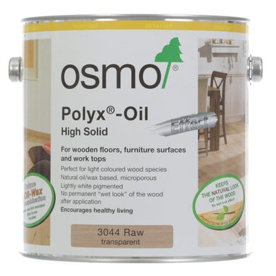 Osmo Polyx Hardwax Oil Effect Raw 2.5L