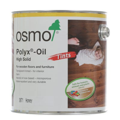 Osmo Polyx Hardwax Oil Tint Honey 2.5L