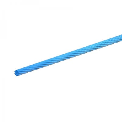 6mm Blue Polypropylene Rope 30m Roll