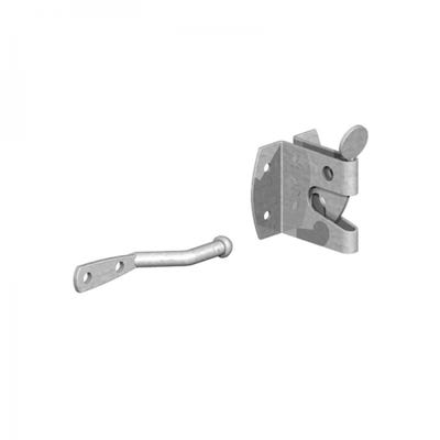 Large Auto Gate Catch Galvanised