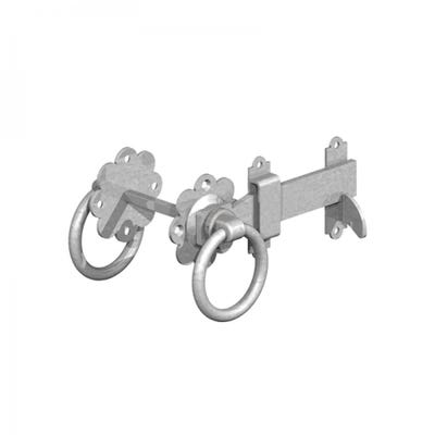 Ring Gate Latch 150mm Galvanised