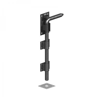 Garage Door Bolt 450mm Black