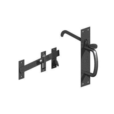 Suffolk Latches Light Black