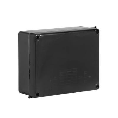 Wiska Weatherproof IP65 Adaptable Box Black 230 x 180 x 88mm (WIB4) 886N