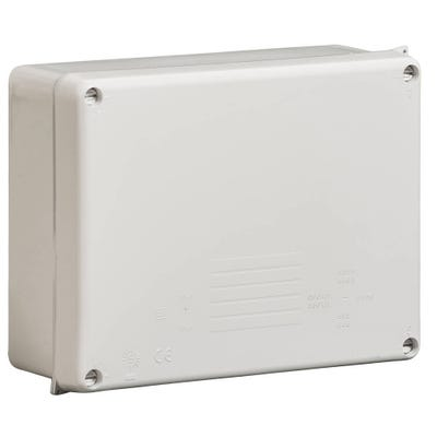 Wiska Weatherproof IP65 Adaptable Box Grey 230 x 180 x 88mm (WIB4) 886LH
