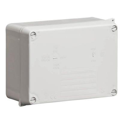 Wiska Weatherproof IP65 Junction Box Grey 160 x 120 x 71mm (WIB2)