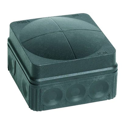 Wiska 108/5 Combi Junction Box IP66/67 Black