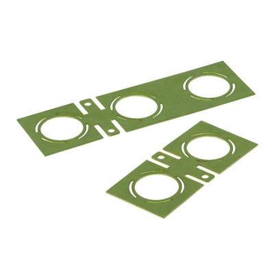 Wiska 607 Earthing Plate (Pack of 2)