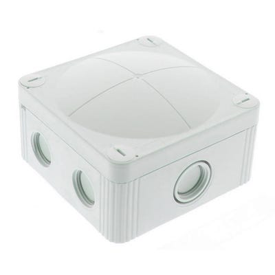 Wiska Empty Junction Box IP66/IP67 Grey 407 95 x 95 x 60mm (COMBI 407/empty)