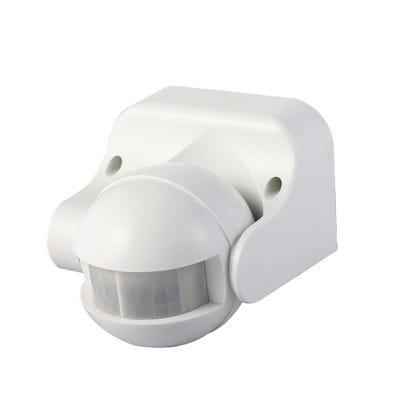 Knightsbridge IP44 180° PIR Sensor White OS004