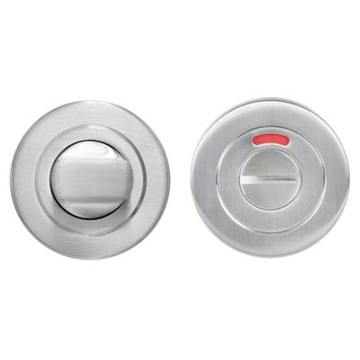Bathroom Turn & Release on Round Rose Stainless Steel