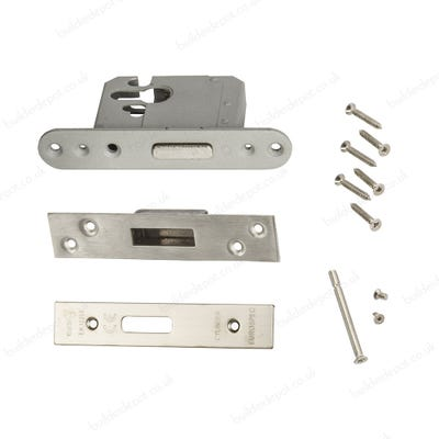 Eurospec High Security Euro Cylinder Deadlock 64mm Satin Stainless Steel