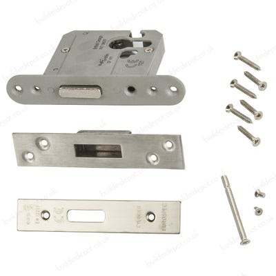 Eurospec High Security Euro Cylinder Deadlock 76mm Satin Stainless Steel