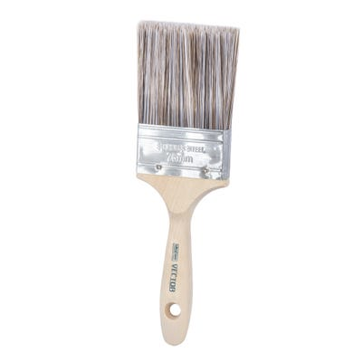 UltraCover Trade Vector 3'' Synthetic Filament Professional Paint Brush