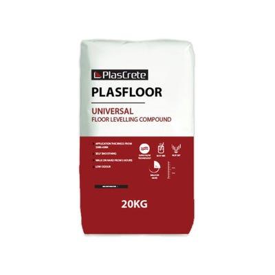 PlasCrete Plasfloor Universal Floor Levelling Compound 20kg