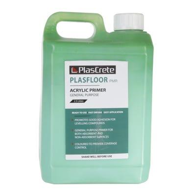 PlasCrete Plasfloor PMR General Purpose Acrylic Primer 2.5Kg