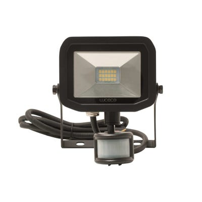 Luceco 8W Slimline LED PIR Floodlight Neutral White LFSP6B150-03