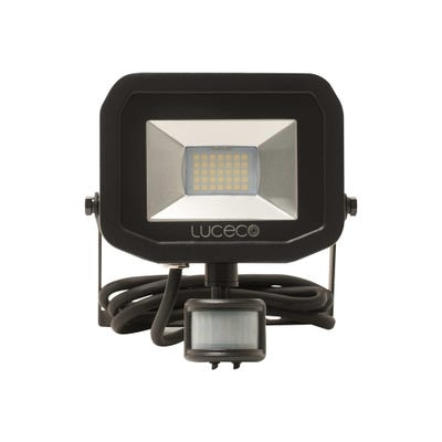 Luceco 22W Slimline LED PIR Floodlight Neutral White LFSP18B150-03