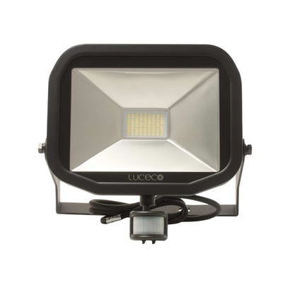 Luceco 38W Slimline LED PIR Floodlight Neutral White LFSP30B150-02