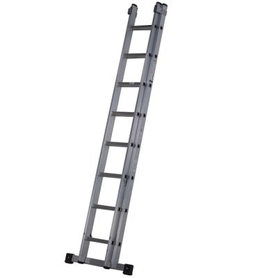 Youngman Trade 2 Section Extension Ladder 2.5m - 3.95m
