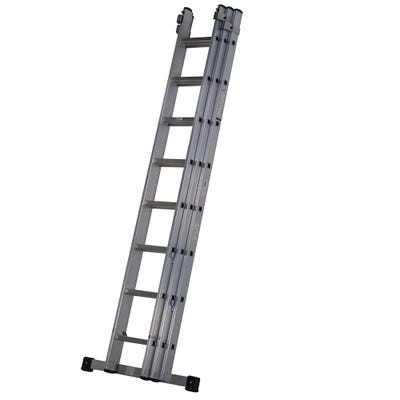 Youngman Trade 3 Section Extension Ladder 2.5m - 5.57m