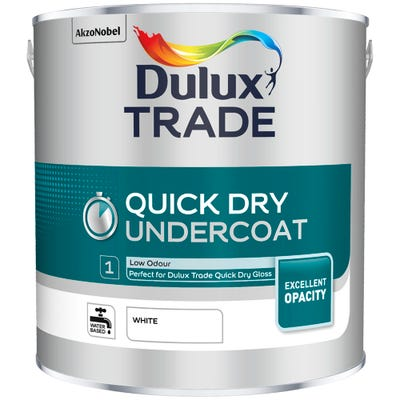 Dulux Trade Quick Dry Undercoat White 2.5L