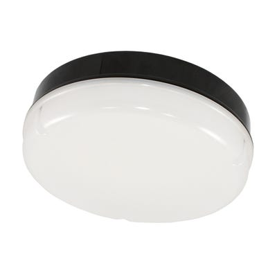 Maximo IP65 15W LED Emergency Bulkhead With White Base Daylight (5000K)