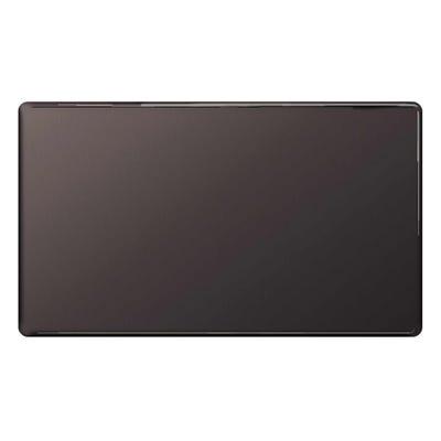 BG Nexus Screwless Flatplate 2 Gang Blanking Plate Black Nickel FBN95-01