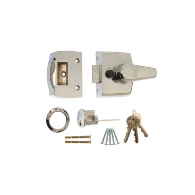ERA 40mm Nightlatch for Front Doors in Chrome