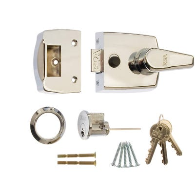 ERA 60mm Nightlatch for Front Doors in Chrome