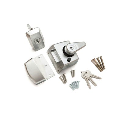 ERA BS Kitemarked Nightlatch 60mm Polished Chrome