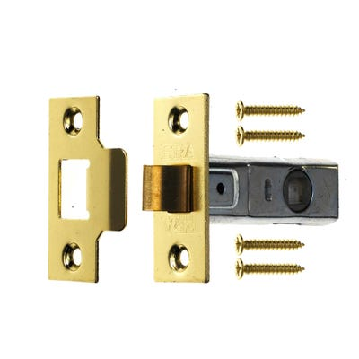 ERA Tubular Mortice Latch 76mm Brass