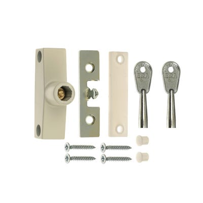 ERA Snaplock For Timber Windows White Pack Of 2