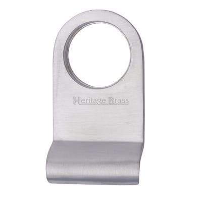 Heritage Brass Round Cylinder Pull Satin Chrome